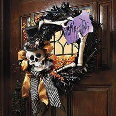 """""""Happy Hauntings"""" Wreath"""