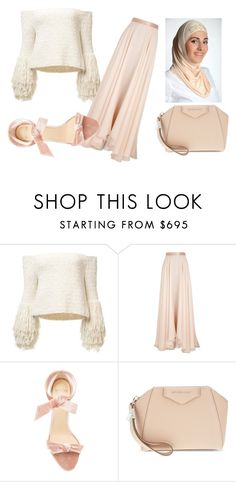 """beauty"" by fareedah-927 ❤ liked on Polyvore featuring Lanvin, Alexandre Birman and Givenchy"