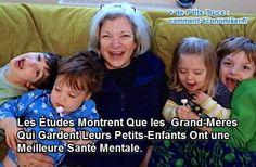 Quand on est grand-mère, rien de mieux que de passer du temps avec ses petits-enfants. Et selon les études scientifiques, garder ses petits-enfants peut aussi vous maintenir en pleine forme mentale pendant vos vieux jours. Regardez : Découvrez l'astuce ici : : http://www.comment-economiser.fr/grand-meres-qui-font-baby-sitting-ont-meilleur-sante-mentale.html?utm_content=bufferbcb68&utm_medium=social&utm_source=pinterest.com&utm_campaign=buffer