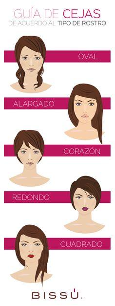 ¿Sabías que la forma de tus cejas puede ayudar a estilizar la forma de tu rostro? Descubre cuál te queda mejor :)