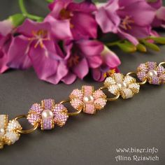 "Bracelet ""Summer Flowers"" 