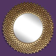 Spoon Mirror (iLovetoCreate.com} #wallart #diy #craft