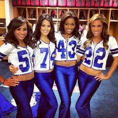 Dallas Cowboys Cheerleaders!
