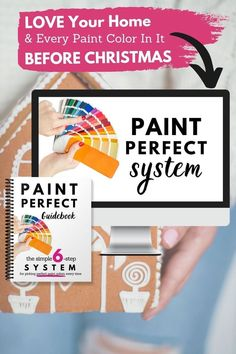 "Want to LOVE your home this holiday season? Even in your comfiest Christmas pjs and fuzzy socks, it's hard to love your home when you hate the paint In < 1 hour, Paint Perfect teaches you a simple, 6-step method for choosing beautiful shades of paint…Every. Single. Time. It's on sale for half the cost of one gallon of paint! So get ready for the holidays w/ beautiful paint now, & when you hear... ""There's no place like home for the holidays,"" you'll fee"