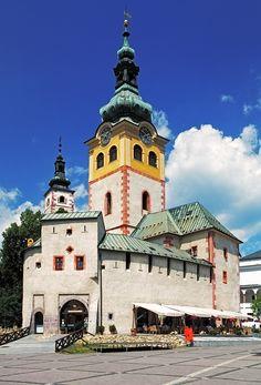 Mestský hrad Barbakan - Banská Bystrica