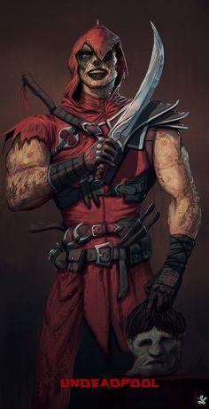#Deadpool #Fan #Art. (Deadpool the slayer) By: Saad Irfan. (THE * 5 * STÅR * ÅWARD * OF: * AW YEAH, IT'S MAJOR ÅWESOMENESS!!!™) [THANK U 4 PINNING!!!<·><]<©>ÅÅÅ+(OB4E)