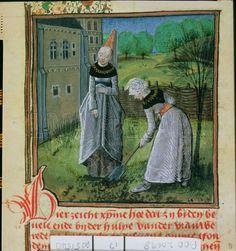 `Die of der Vroulen', Dutch version of the `Cite des Dames', written in 1475 for Jan de Baenst Riddere Heere Van Sint Joris.