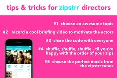 here's how to create zipstrr videos like a pro! have some great tips yourself? feel free to comment them below! #zipstrr #tipsandtricks #perfectvideo #infilmunited #trendsettrr #madeinberlin #fromhollywood #wedonttakepicturesnomore #zipitberlinstyle
