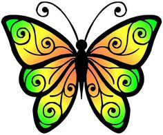 romantic butterfly free clip art – Yahoo Search Results Image Search Results - diy tattoo images Butterfly Clip Art, Butterfly Pictures, Butterfly Fairy, Butterfly Painting, Cartoon Butterfly, Free Clipart Images, Free Images, Diy Tattoo, Embroidery