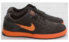 6be239a6a1d An orange Lunarlon sole sets the base for a suede midnight fog upper for  this pair of Nike SB Paul Rodriguez The understated colorway also uses  orange on ...