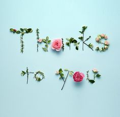 Thank You For Birthday Wishes, Thank You Wishes, Happy Birthday Flower, Thank You Greetings, Thank You Messages, Birthday Greetings, Flower Words, Flower Letters, Flower Quotes