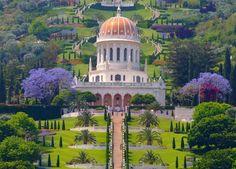 Bahai Gardens in #Haifa, #Israel