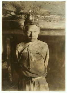 [ child miner, circa 1900 ]  Next time you think you're having a bad day at the office…