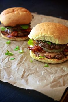 Thai Peanut Butter & Bacon Burger