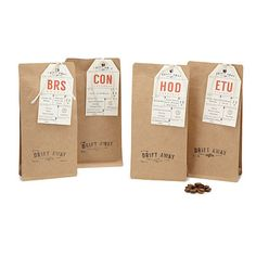Look what I found at UncommonGoods: coffee explorer set... for $13 #uncommongoods