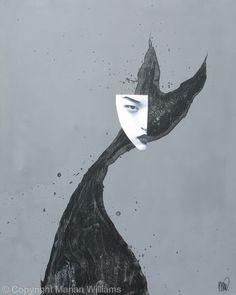 Black Cat 3 - Collage - Original