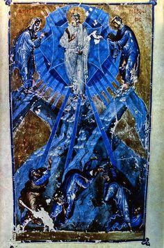 Homilies of Emperor John VI, Paris, Bibliotheque nationale de France, MS Gr. 1242,Transfiguration -- c 1347