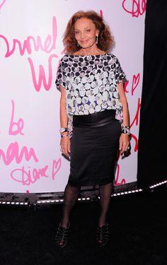Diane von Furstenberg 60+ and Fabulous!