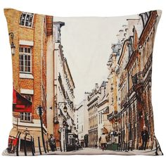 Featuring a famous Camden street scene, this Paoletti cushion celebrates the heart, soul and style of Camden.