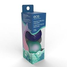Mermaids, rejoice! EOS recently introduced a limited-edition organic lip balm ($9 for 2-pack) with marine botani