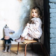 This autumn we've got the softest dresses and pullovers from #GOTS certified organic cotton sweat #taiga #taigacollection #aw16 #comingsoon #monkind #organickkidswear  @herz.und.blut