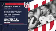 There's a lot of ❤️ in this team. Clint Dempsey, Copa America Centenario, Team Usa, Stand Up, Search, Twitter, Sports, Design, Hs Sports