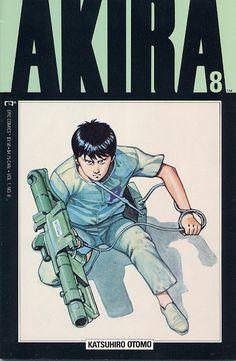 Akira #8   comic books comics