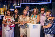 Junto al pintor Martigodi, su mujer Carmina y unos amigos.
