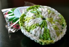 I decided to make crocheted dish scrubbers this year as a little gift for my closest friends and family that we don't exchange gifts with. Bryan's Aunt Veda gave one of these magical things a few y...