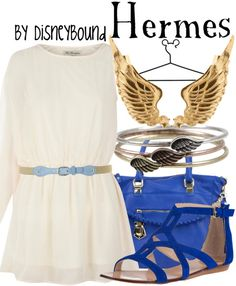 Hermes by Disney Bound Hercules Fashion Disney outfit
