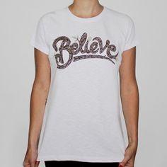 Camiseta BELIEVE