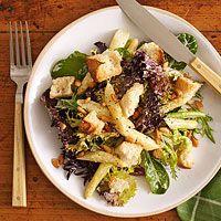 Asparagus Bread Salad