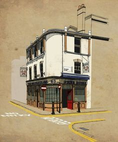 Urban drawings of Jessie Douglas' illustrations. She is originally from the…