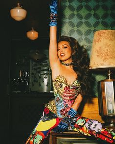 Queen of Latin Pop: Thalia Looks Back On A Decade of Reigning Thalia, Sing For You, Musa, Christian Lacroix, G Star Raw, A Decade, Me Me Me Song, Beautiful Roses, Looking Back