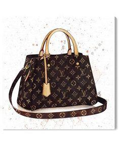 Ropa Louis Vuitton, Louis Vuitton Handbags, Purses And Handbags, Louis Vuitton Monogram, Pink Louis Vuitton Bag, Gucci Handbags, Fashion Artwork, Fashion Wall Art, Bag Illustration