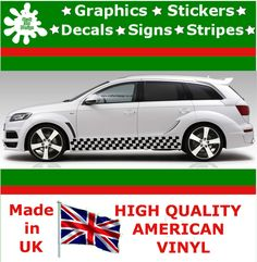 Car Stripes Racing Sticker Art Set Vinyl Graphics Decal Auto Rally JDM Viper 2