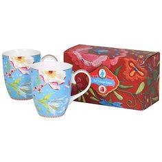 Buy PiP Studio Chinese Garden Mugs, Set of 2 Online at johnlewis.com