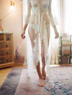 Gorgeous Bridal Vintage-Inspired Lingerie By Claire Pettibone - Weddingomania Belle Lingerie, Sexy Lingerie, Bridal Lingerie, Beautiful Lingerie, Honeymoon Lingerie, Vintage Lingerie, Bridal Intimates, Bridal Nightwear, Honeymoon Attire