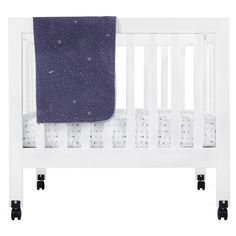 Babyletto Galaxy Fitted Mini Crib Sheet - T8055