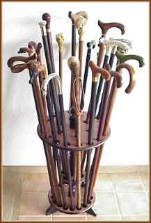 I have a buch of canes. I collcet them. Get it my last name is kane. http://fashioncane.com/images/canes.jpg