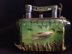 Rare Dunhill Aquarium Table Lighter