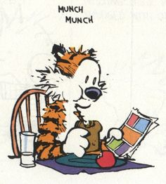 Calvin and Hobbes - Comic Books!