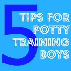 tips for potty training boys.  You don't realize how true this is until you have to potty train a boy.  HA HA HA!  I have said/done most of these.