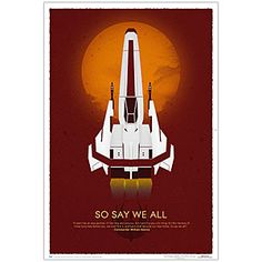 ThinkGeek :: Battlestar Galactica So Say We All 10th Anniversary Poster