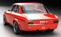 Oh, here it is. | carsthatnevermadeitetc: Alfa Romeo Giulia GTA...