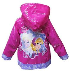 Disney-Frozen-Girls-Rain-Coat-Toddler-3T-0-0