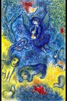 Angel Espionage: Marc Chagall - La flûte enchantée (1967)