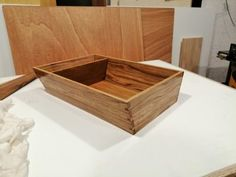 Madera Maciza – JCea Storage Chest, Furniture, Home Decor, Solid Wood, Solid Oak, Trays, Objects, Interiors, Decoration Home
