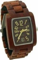 Cool wood watch.