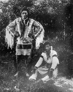 Assiniboine brothers - circa 1890